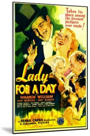 Lady for a Day, Warren William, May Robson, Guy Kibbee, 1933--Mounted Photo