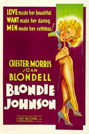 Blondie Johnson, Joan Blondell, 1933--Stretched Canvas Print
