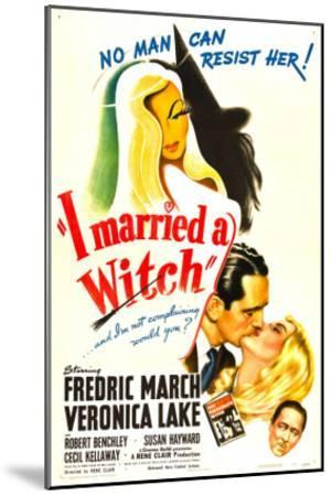 I Married a Witch, Fredric March, Veronica Lake, Robert Benchley, 1942--Mounted Photo