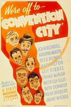 Convention City, 1933--Stretched Canvas Print