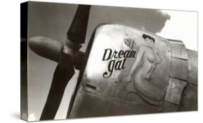 Nose Art, Dream Gal Pin-Up--Stretched Canvas Print