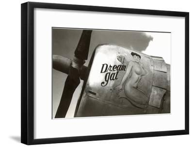 Nose Art, Dream Gal Pin-Up--Framed Art Print