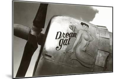 Nose Art, Dream Gal Pin-Up--Mounted Art Print