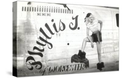 Nose Art, Phyllis J.--Stretched Canvas Print