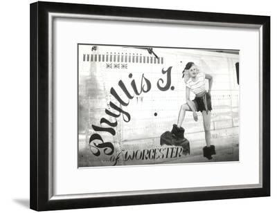 Nose Art, Phyllis J.--Framed Art Print