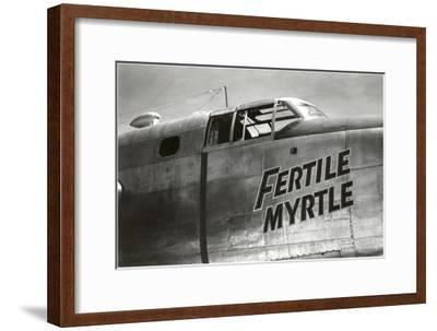 Nose Art, Fertile Myrtle--Framed Art Print