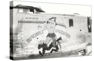 Nose Art, Butcher's Daughter, Pin-Up--Stretched Canvas Print