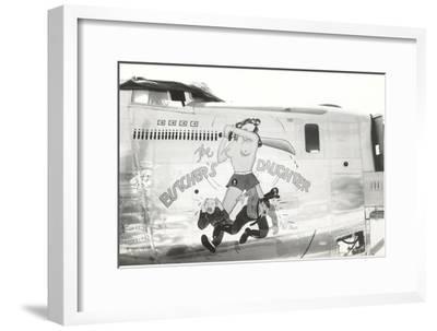 Nose Art, Butcher's Daughter, Pin-Up--Framed Art Print