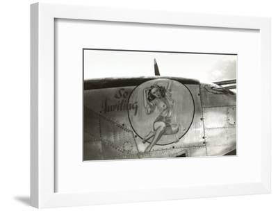 Nose Art, Pin-Up--Framed Art Print