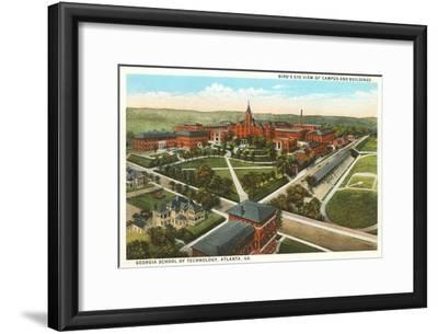 Georgia Tech, Atlanta, Georgia--Framed Art Print