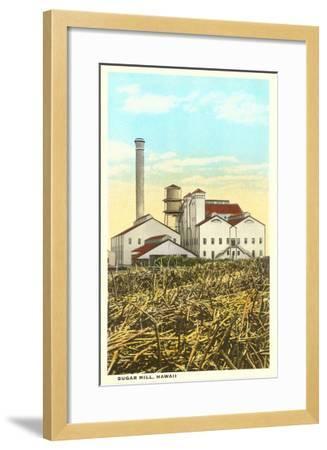 Sugar Cane Processing Mill--Framed Art Print