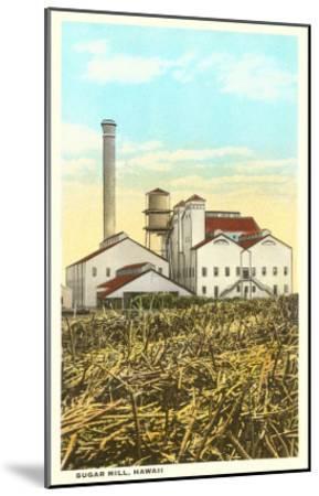 Sugar Cane Processing Mill--Mounted Art Print
