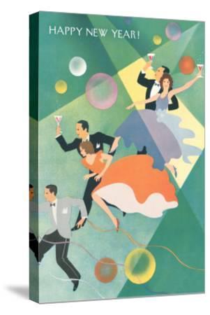 Party Celebration--Stretched Canvas Print
