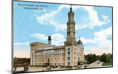 Murat Temple, Indianapolis, Indiana--Mounted Art Print