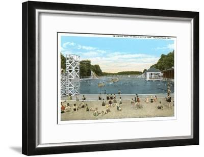 Ripple Park, Indianapolis, Indiana--Framed Art Print
