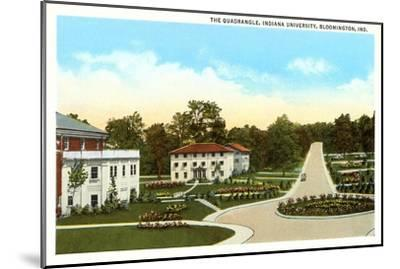 University, Bloomington, Indiana--Mounted Art Print
