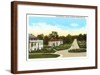 University, Bloomington, Indiana--Framed Art Print