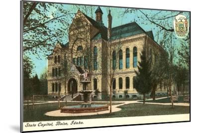 State Capitol, Boise, Idaho--Mounted Art Print
