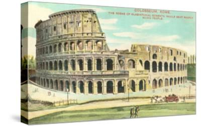 Colosseum, Rome, Italy--Stretched Canvas Print