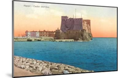Castel dell'Ovo, Naples, Italy--Mounted Art Print