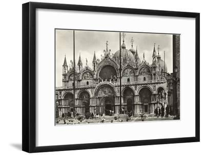 St. Mark's Basilica, Venice, Italy, Photo--Framed Art Print