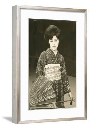 Modern Geisha--Framed Art Print