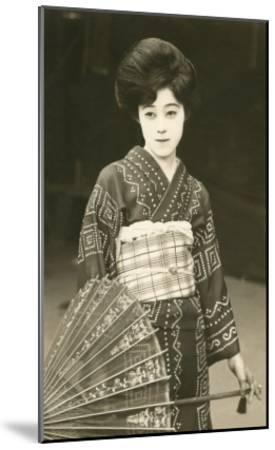 Modern Geisha--Mounted Art Print