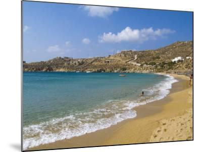Super Paradise Beach, Mykonos, Greece-Bill Bachmann-Mounted Photographic Print
