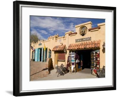 Old Town Chili Patch Store, Albuquerque, New Mexico, USA-Bill Bachmann-Framed Photographic Print