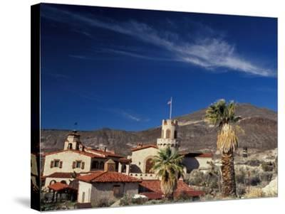 Scottys Castle, Death Valley National Park, California, USA-Julie Bendlin-Stretched Canvas Print