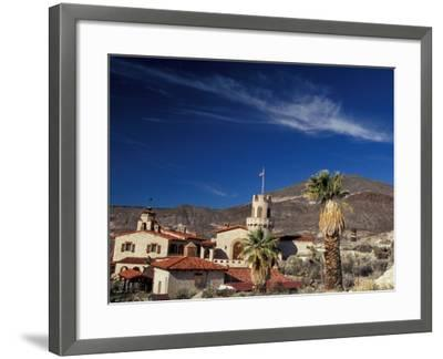 Scottys Castle, Death Valley National Park, California, USA-Julie Bendlin-Framed Premium Photographic Print