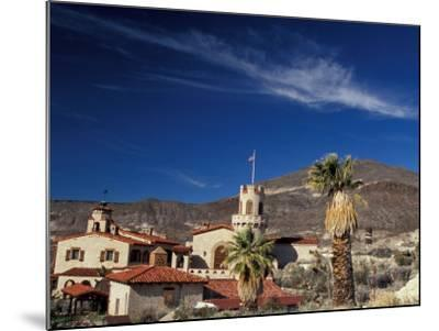 Scottys Castle, Death Valley National Park, California, USA-Julie Bendlin-Mounted Premium Photographic Print