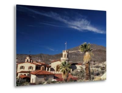 Scottys Castle, Death Valley National Park, California, USA-Julie Bendlin-Metal Print