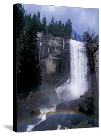Vernal Fall, Yosemite National Park, California, USA-Julie Bendlin-Stretched Canvas Print