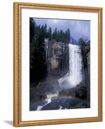 Vernal Fall, Yosemite National Park, California, USA-Julie Bendlin-Framed Photographic Print