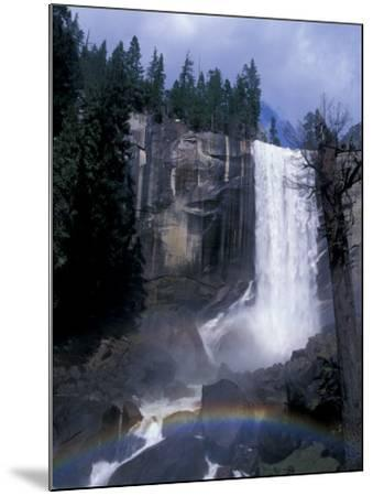Vernal Fall, Yosemite National Park, California, USA-Julie Bendlin-Mounted Photographic Print