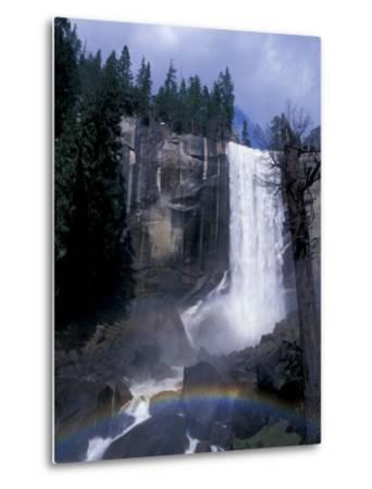 Vernal Fall, Yosemite National Park, California, USA-Julie Bendlin-Metal Print