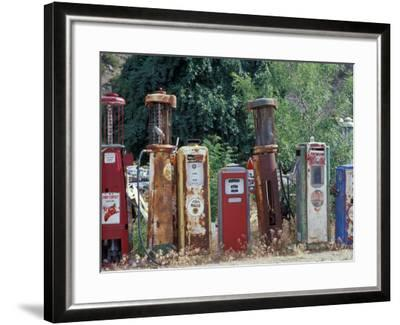 Roadside Route 66 Gallery, New Mexico, USA-Julie Bendlin-Framed Photographic Print