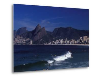 Praia De Ipanema, Rio De Janeiro, Brazil-Julie Bendlin-Metal Print