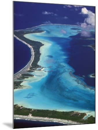 Le Meridien Hotel Bungalows, , Bora Bora, French Polynesia-Walter Bibikow-Mounted Photographic Print