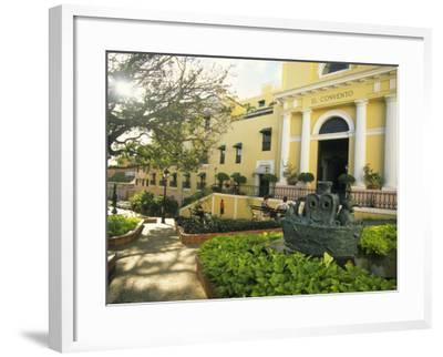Grand Hotel El Convento and Plaza, Old San Juan, Puerto Rico-Ellen Clark-Framed Photographic Print