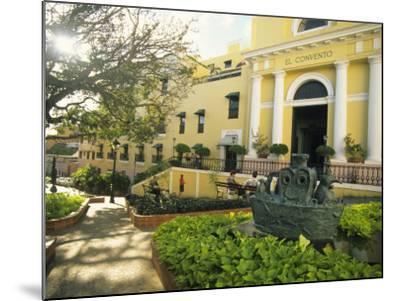 Grand Hotel El Convento and Plaza, Old San Juan, Puerto Rico-Ellen Clark-Mounted Photographic Print