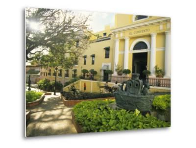 Grand Hotel El Convento and Plaza, Old San Juan, Puerto Rico-Ellen Clark-Metal Print