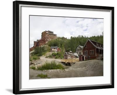 Kennecott Copper Mine, Mccarthy, Wrangell St. Elias National Park, Alaska, USA-Ellen Clark-Framed Photographic Print