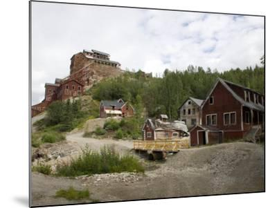 Kennecott Copper Mine, Mccarthy, Wrangell St. Elias National Park, Alaska, USA-Ellen Clark-Mounted Photographic Print