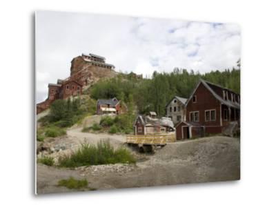Kennecott Copper Mine, Mccarthy, Wrangell St. Elias National Park, Alaska, USA-Ellen Clark-Metal Print