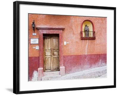 Casa De La Cuesta, San Miguel, Guanajuato State, Mexico-Julie Eggers-Framed Photographic Print