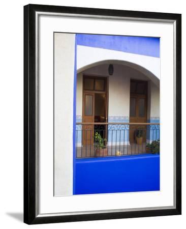 Hotel Mediomundo, Merida, Yucatan, Mexico-Julie Eggers-Framed Photographic Print