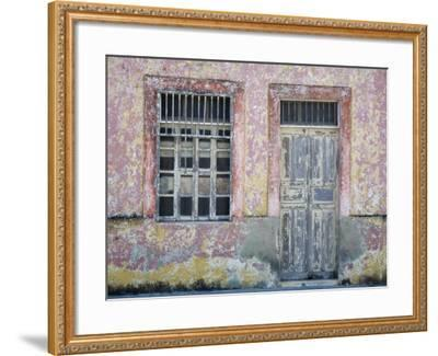 Typical Street Scene in Progreso, Yucatan, Mexico-Julie Eggers-Framed Photographic Print