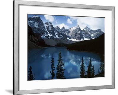Valley of Ten Peaks, Lake Morain, Banff National Park, Alberta, Canada-Charles Gurche-Framed Photographic Print